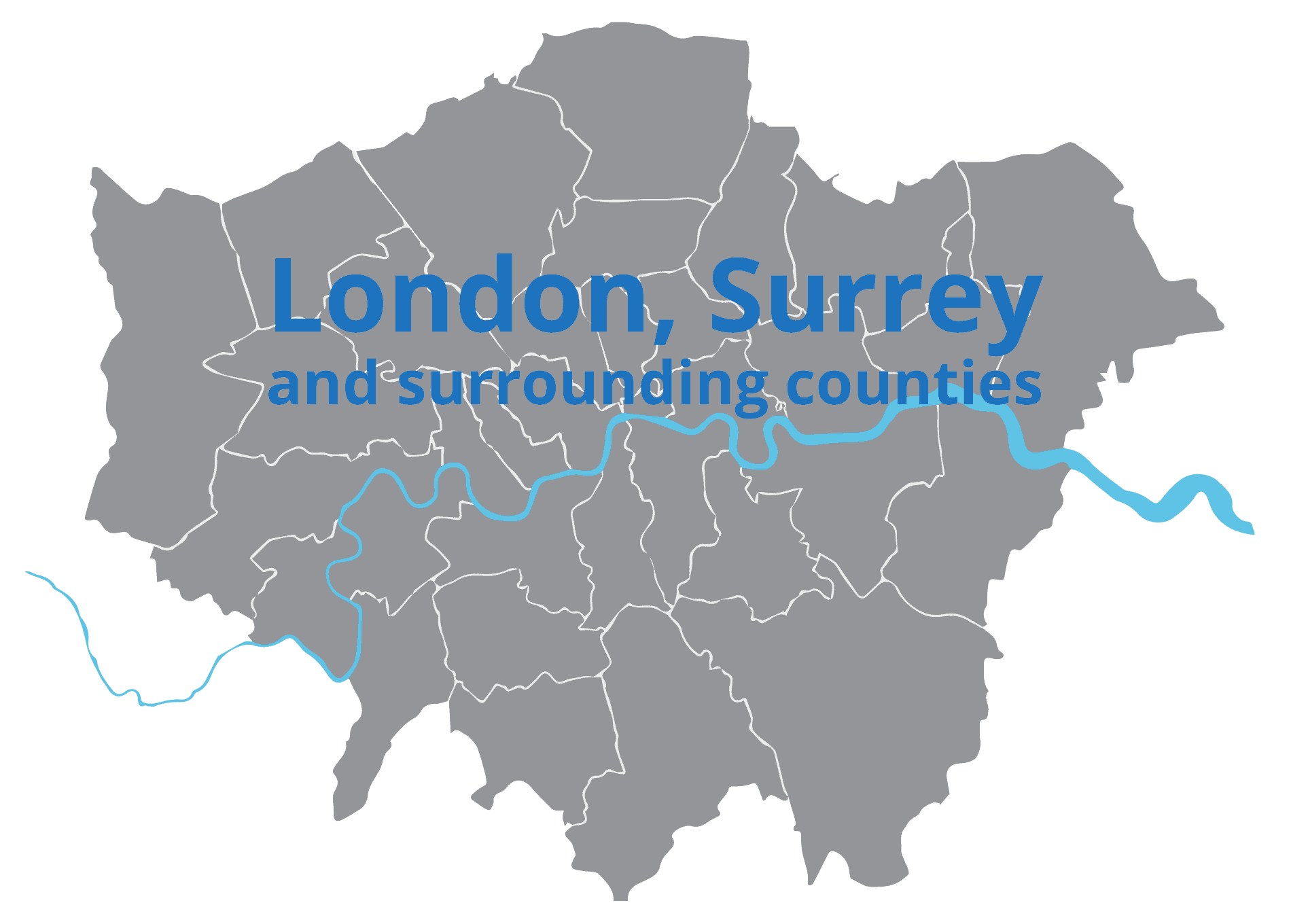 London Surrey map serviceteam