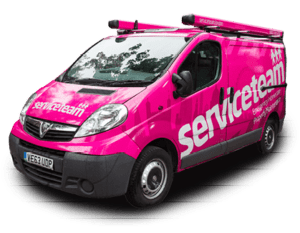 serviceteam van london