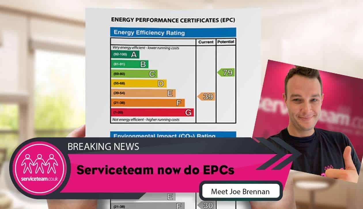 Serviceteam EPC certificate