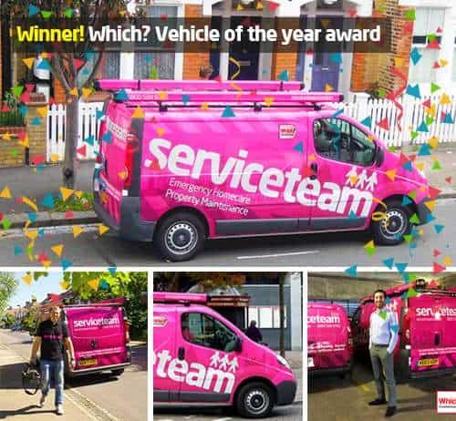 Vehicle of the year award
